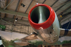 North Korean Mig-15 the Business End. 2 x NR-23 23mm cannons and 1 x Nudelman N-37 37mm cannon