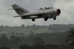 Mig-15 UTI in Soviet markings