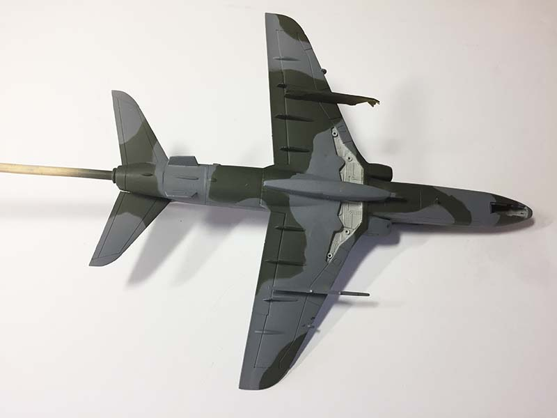 Airfix 1:72 BAe Hawk  T.Mk.1A painted (4)  (Jets of the Cold  War)
