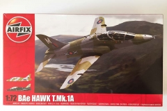 Airfix 1:72 BAe Hawk  T.Mk.1A box art (Jets of the Cold  War)