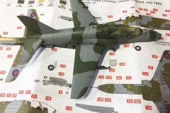 Airfix 1:72 BAe Hawk  T.Mk.1A painted (1)  (Jets of the Cold  War)