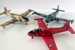 Airfix 1/72 Hunting Percival Jet Provost T.4's
