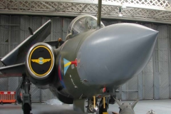 RAF Buccaneer S2 in wrap around camouflage