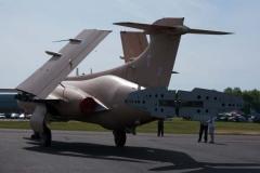 RAF Buccaneer S2 in Desert Storm camouflage