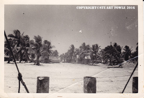 Airfield buffet on Christmas Island