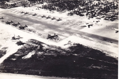 Airfield on Christmas Island - RAF Photographic Section