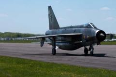RAF Lightning F1. 11 Sqd