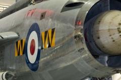 RAF Lightning F1. 74 Sqd