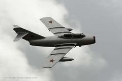 Mig-15 UTI in Soviet markings