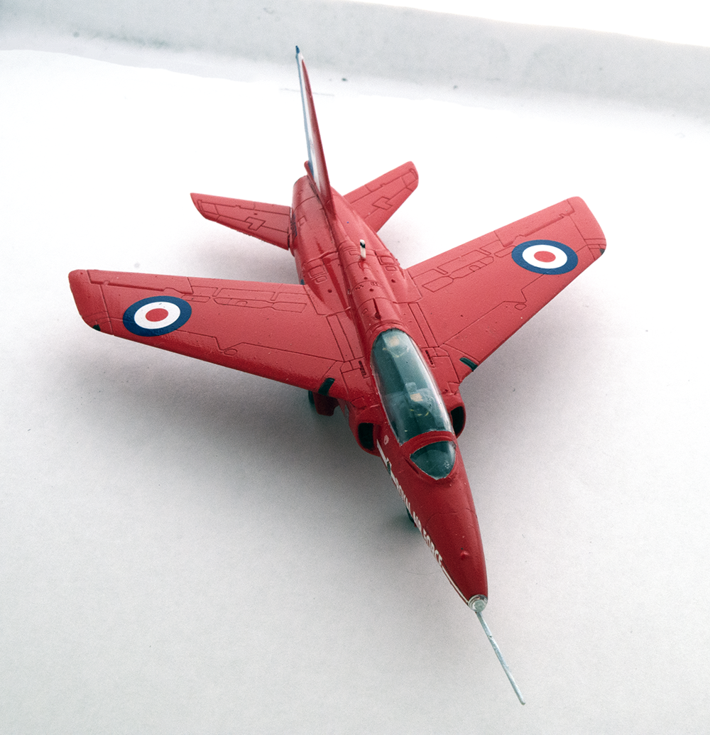 Red Arrows Gnat_10