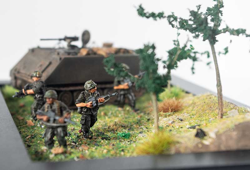 The Nam - In 1:72 scale - finished