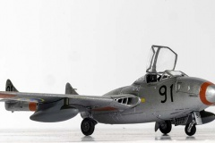 Airfix 1/72 Vampire T.11/J-28C