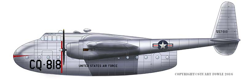 Fairchild C-82 Packet - Jets of the cold war