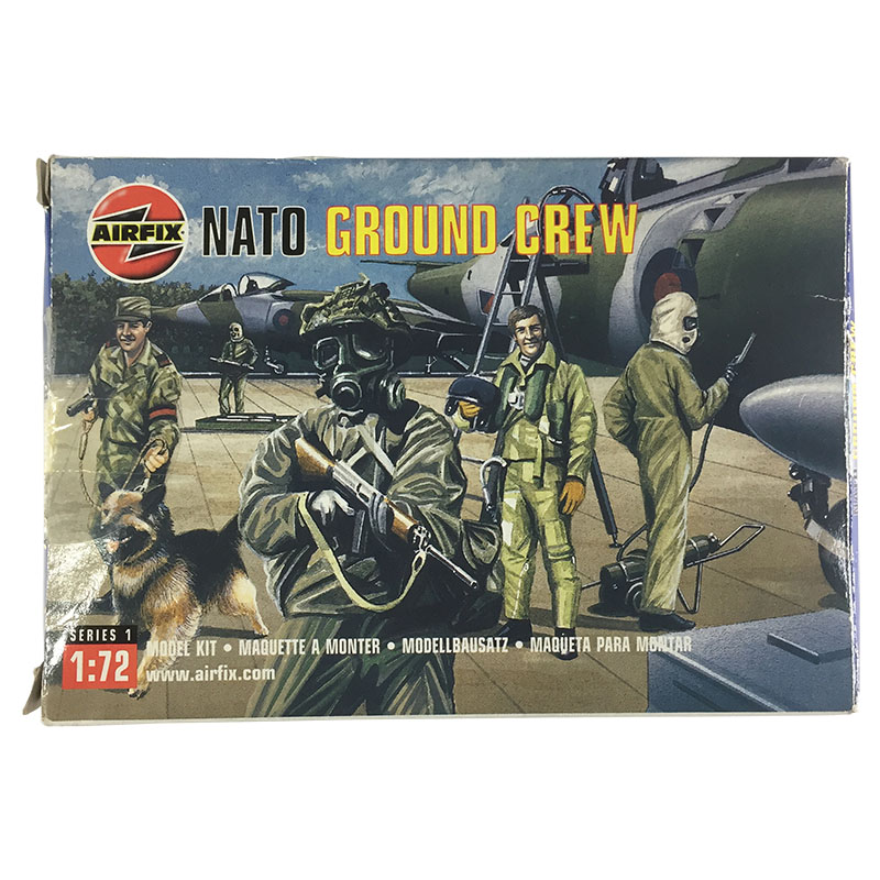 Box art of the Airfix 1:72 NATO Ground Crew.