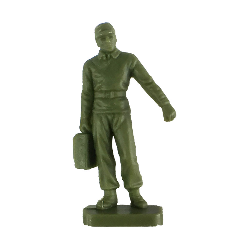 Airman/Soldier carrying case/box from the Airfix 1:72 NATO Ground Crew.