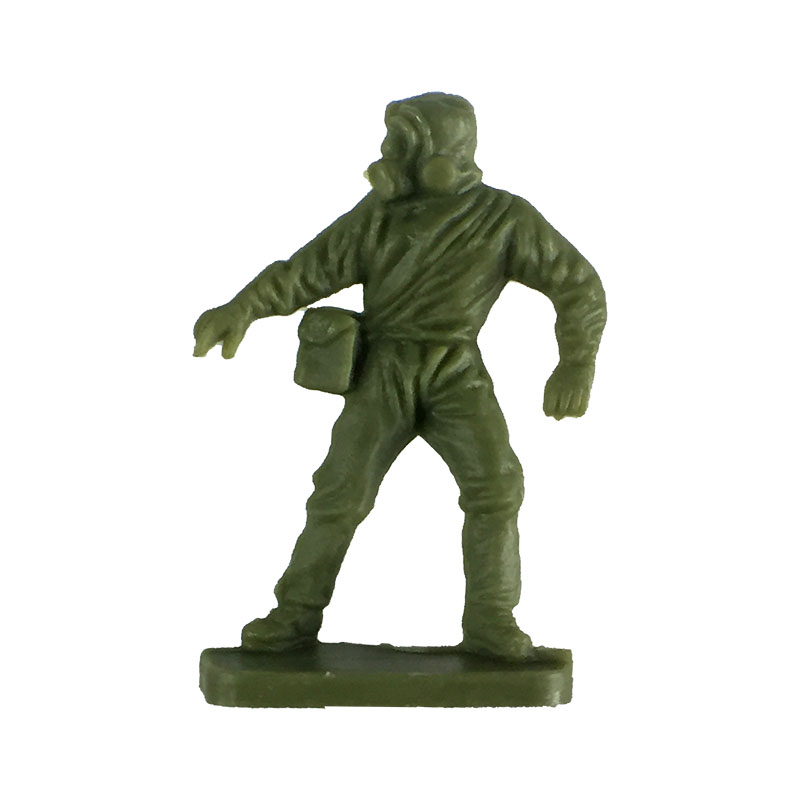 Airfix 1:72 NATO ground crew figure in full NBC kit.