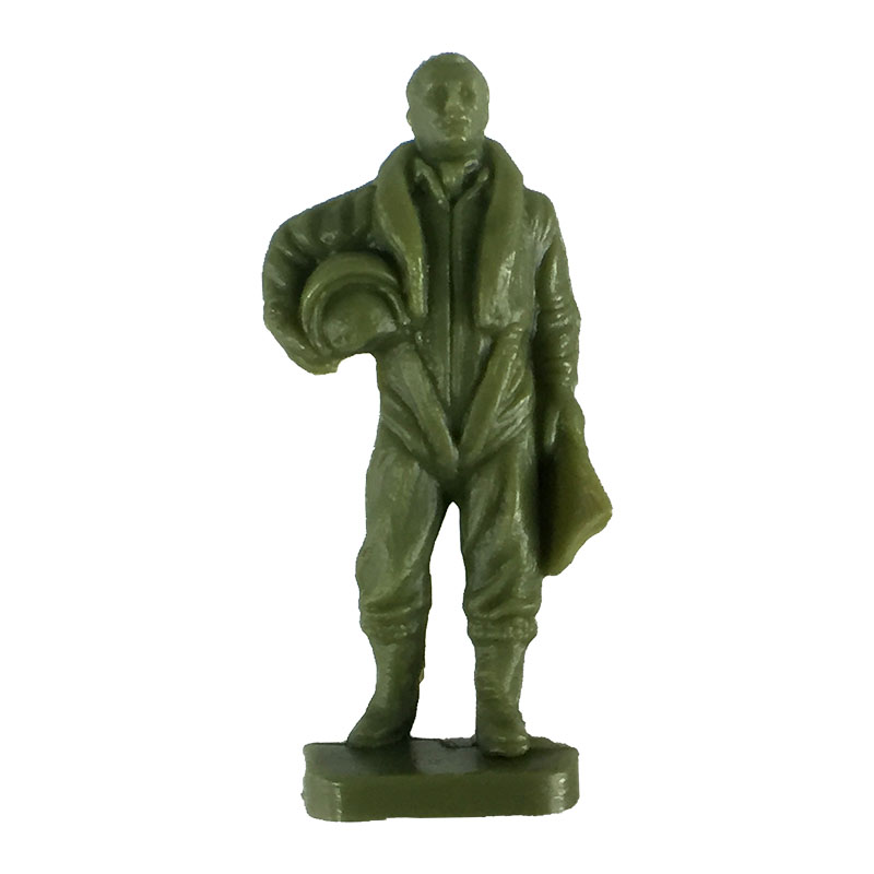 Pilot figure from the Airfix 1:72 NATO Ground Crew