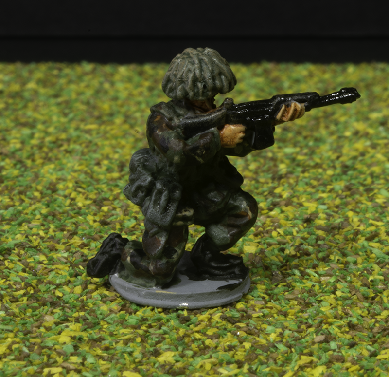Elhioem 1:72 BAOR British infantry figure.