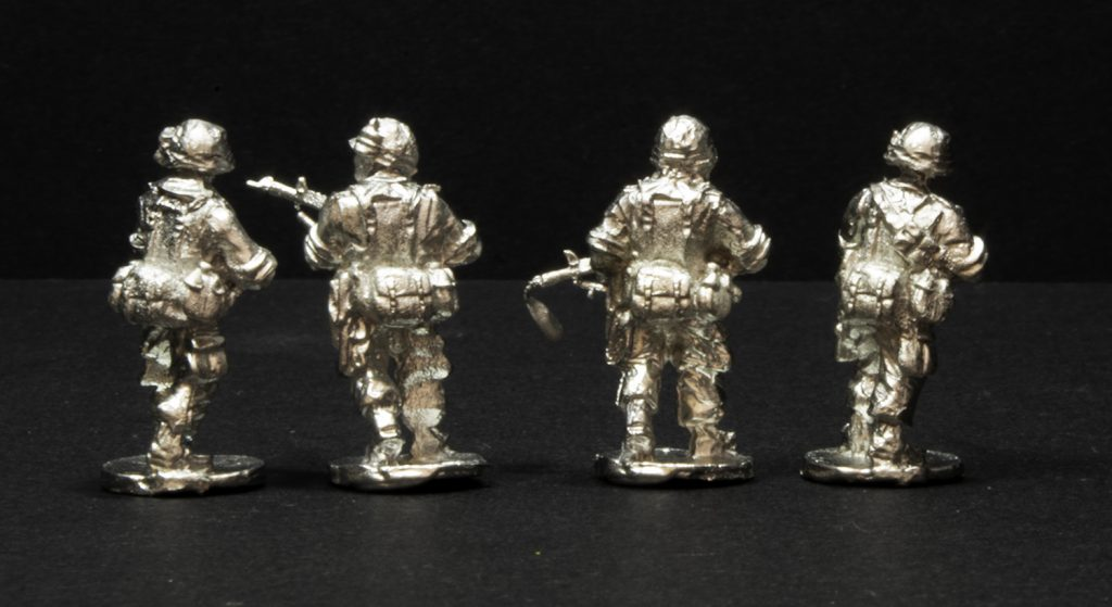 Elhiem 1:72 (20mm) US Army in Vietnam figures, rear view