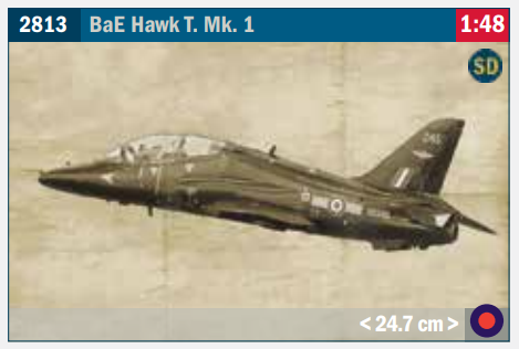 Image of 1:48 Italeri BAE HAwk Sioux new for 2021.