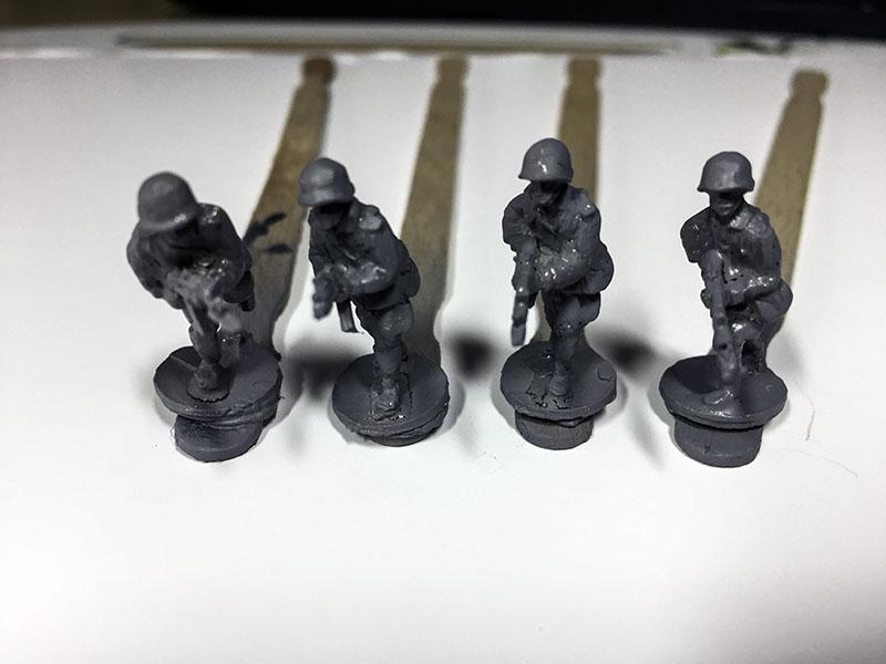 Elhiem 1:72 Soviet Motor Rifle Infantry primed.