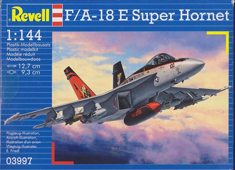 Revell 1:144 F/A-18 E Super Hornet box art