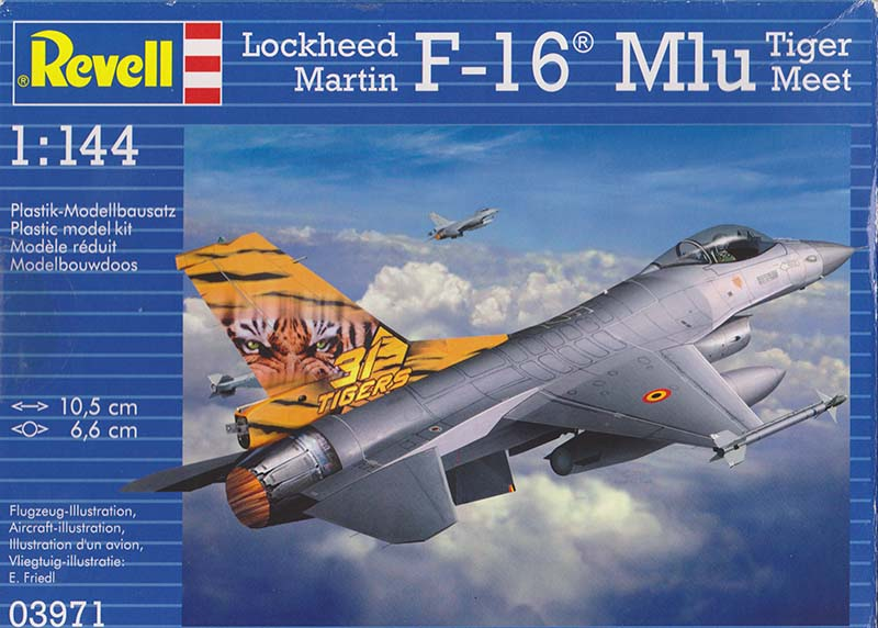 Revell F-16 Mlu Tiger Meet box art