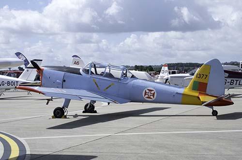 Portuguese de Havilland Chipmunk. Photo copyright of Stuart Fowle (Jets of the Cold War).